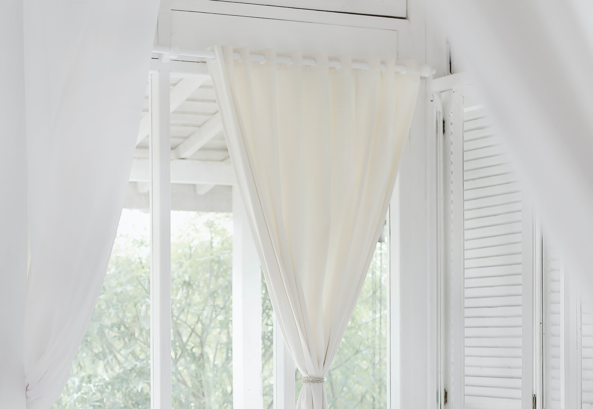 How To Pair Curtains With Shutters